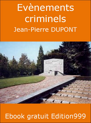 Evènements criminels
